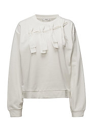 Bow detail sweater - NATURAL WHITE