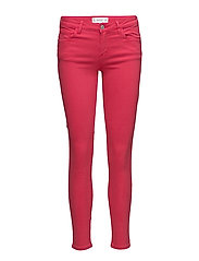 Kim skinny push-up jeans - BRIGHT PINK