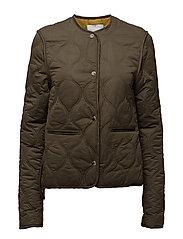 Quilted jacket - BEIGE - KHAKI