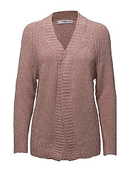 Metallic thread cardigan - PINK