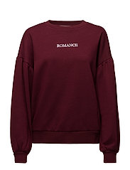 Romance sweatshirt - DARK RED
