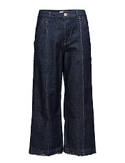 Culotte relaxed jeans - OPEN BLUE