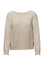 Knot detail sweater - LT PASTEL GREY