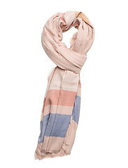 Striped scarf - LT-PASTEL PINK