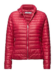 Quilted down anorak - BRIGHT PINK
