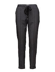 Belt baggy trousers - GREY
