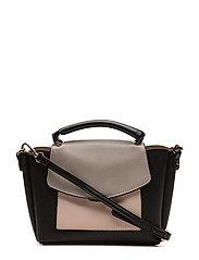 Pebbled tote bag - LT-PASTEL PINK