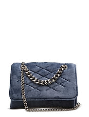 Velvel quilted bag - LT-PASTEL BLUE