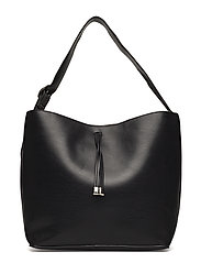 Cosmetic bag shopper bag - BLACK
