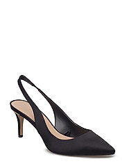 Slingback shoes - BLACK