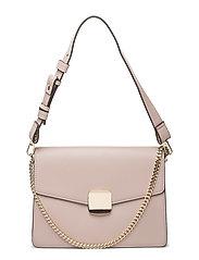 Flap chain bag