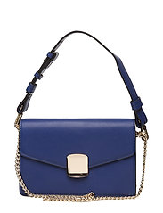 Chain cross body bag - MEDIUM BLUE