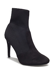 Heel sock boots - BLACK