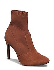 Heel sock boots - MEDIUM ORANGE
