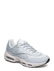 Platform satin sneakers - LT-PASTEL PURPLE