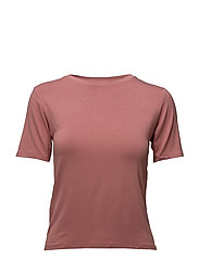 Essential cotton-blend t-shirt - PINK