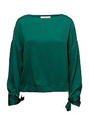 Bow sleeve blouse - GREEN