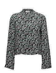 Bell sleeve shirt - GREEN