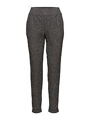 Printed trousers - BLACK