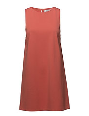 Shift dress - BRIGHT RED