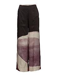 Printed culottes - LT-PASTEL PURPLE
