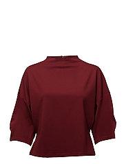 Dolman sleeve t-shirt - DARK RED
