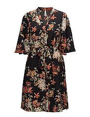 Mango - Flower Print Dress