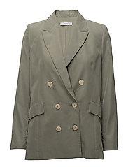 Modal-blend suit blazer - BEIGE - KHAKI