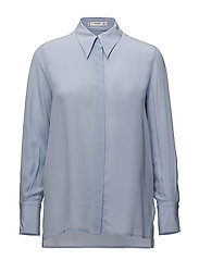Silk shirt - LT-PASTEL BLUE