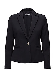 Peak lapel suit blazer - NAVY
