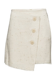 Tweed skirt - LIGHT BEIGE