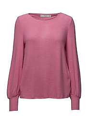 Puffed sleeves sweater - PINK