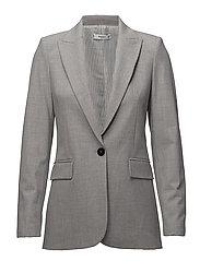 Flecked suit blazer - LT PASTEL GREY