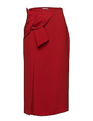 Decorative knot skirt - RED
