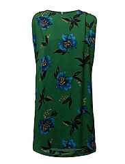 Floral print dress - GREEN