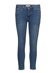 Crop skinny Isa jeans - LT-PASTEL BLUE