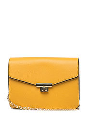 Chain cross body bag - MEDIUM YELLOW