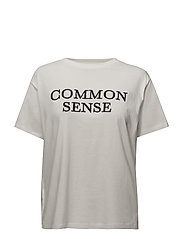 Commom sense t-shirt - WHITE