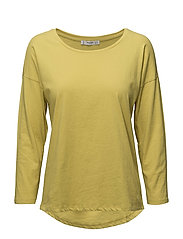 Long sleeve t-shirt - BRIGHT YELLOW