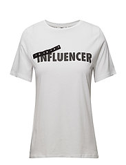 Influencer t-shirt - WHITE