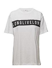 Long Live Love t-shirt - WHITE