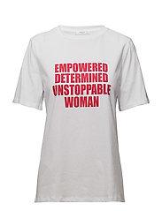 Women's day t-shirt - RED