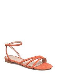Decorative strap sandals - LT-PASTEL ORANGE