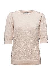 Textured sweater - LT-PASTEL PINK