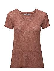 Flecked lightweight t-shirt - PINK