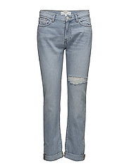 Relaxed Girlfriend jeans - OPEN BLUE