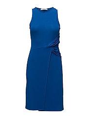 Ruched detail dress - DARK BLUE