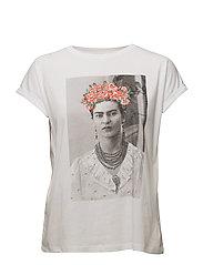 Frida Kahlo t-shirt - WHITE