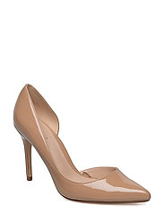 Patent leather heel shoes - LT-PASTEL PINK