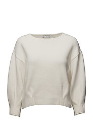 Organic cotton sweater - LIGHT BEIGE